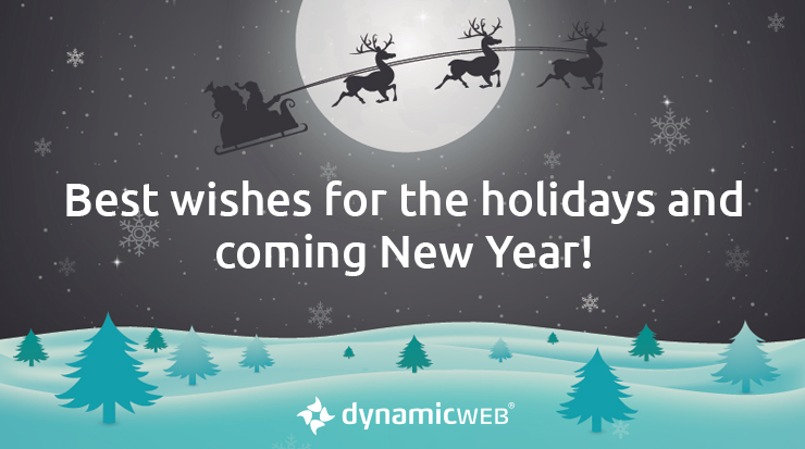 Merry Christmas And Happy New Year.Merry Christmas And Happy New Year From Dynamicweb