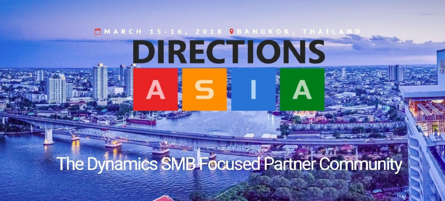 Meet Dynamicweb at Directions ASIA 2018